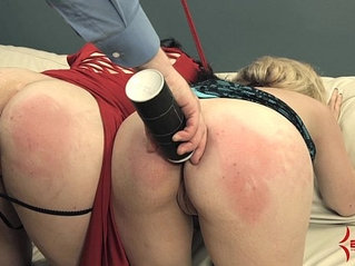 Nasty whore feeds on secret professional bitch's ass