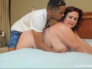 Huge Tit MILF Lady Lynn Fucks Sons Black Friend