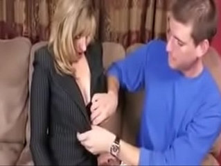 fucktubeporn.xyz - Stepmom Sex Education for Her Stepson to Go to College