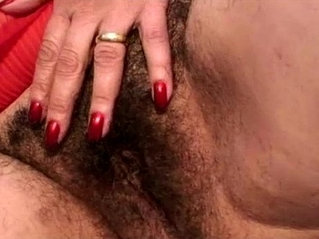 Hairy granny takes a pounding