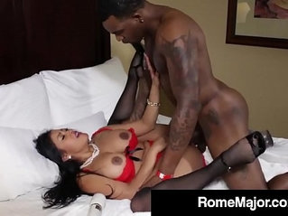 BBC Rome Major Pounds Maxine X's Asshole Until She Squirts!