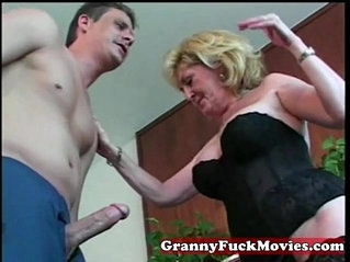 Granny whore loves them young