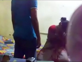 Ugly mature Indian aunty is getting her body