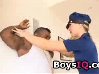 Tight police officer knows how to treat a dick! - BoysIQ